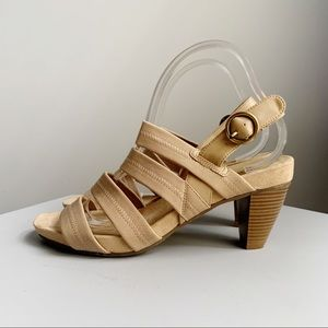 Abella Multi-Strap Sling Back Sandals